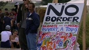 Manifestation de soutien aux sans-papiers à Calais