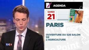 Politique, football, agriculture : l'agenda de la semaine