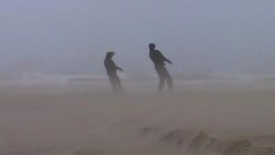 vent vents intempéries météo tempête plage rafales