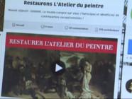 Le 20 heures du 31 octobre 2014 : Mus�d%u2019Orsay : ces particuliers qui ont particip� la restauration d%u2019une toile de Courbet - 2079.26604296875