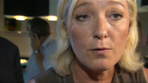 Marine Le Pen, le 10 septembre 2011 à Nice.