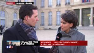 """Najat Vallaud-Belkacem : """"Le Président a tourné tout son propos autour de l'égalité"""""""