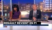 """Retour de Renault en Formule 1 : """"C'est formidable pour les Français"""" se réjouit Jacques Laffite"""