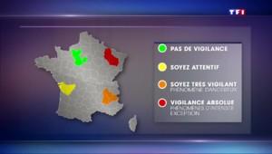 Déluge sur les Alpes-Maritimes : quels sont les différents niveaux d'alerte et qu'impliquent-ils ?