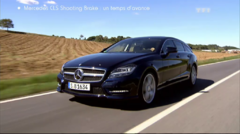 Essai Mercedes CLS Shooting Brake Automoto 2012
