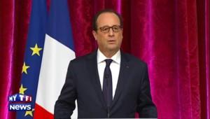 """Hollande sur l'Irak : """"D'autres actions auront lieu dans les prochains jours"""""""