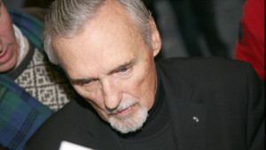 L'acteur et réalisateur Dennis Hopper