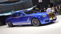 Photo 2 : Rolls-Royce Ghost par Mansory : shocking !
