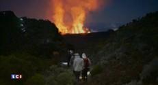 Volcan : beauté nocturne et démonstration de lave à La Réunion