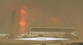 Canada : incendie à Fort McMurray, la totalité de la ville évacuée