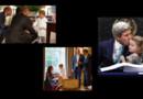 Le prince George accueille les Obama en pyjama, John Kerry à l'ONU avec sa petite-fille