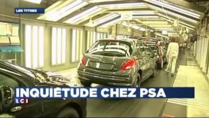 PSA : visite houleuse de Tavarez à l'usine d'Aulnay