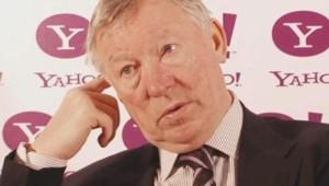 Alex Ferguson, entraîneur de Manchester United.