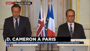 """David Cameron : """"Il nous faut protéger plus encore nos frontières européennes"""" contre le terrorisme"""