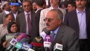 Le président yéménite Saleh.