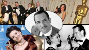 Oscars Marion Cotillard Juliette Binoche jean Dujardin, The Artist, Simone Signoret La marche de l'empereur