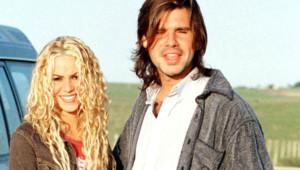 Shakira et Antonio De La Rua, en octobre 2000.