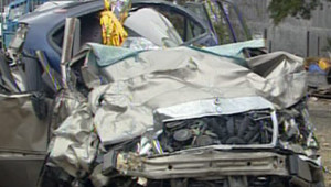 TF1/LCI accident voiture route