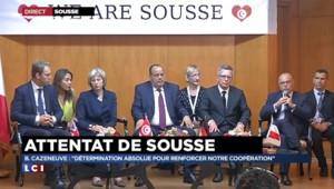 """Attentat de Sousse : Cazeneuve souligne """"la détermination à agir ensemble"""" contre le terrorisme"""