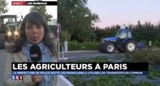 Mouvement des agriculteurs : équipés, éleveurs et producteurs rejoignent l'A13