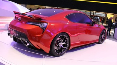 Toyota FT-86 II Concept au Salon de Francfort 2011