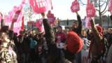 Des milliers de partisans du mariage gay dans les rues de Paris