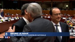 """Bruno Le Roux : """"S'il n'y avait pas eu la France, l'accord n'aurait pas été possible"""""""