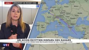 Disparition d'un avion entre Paris et Le Caire : une cellule de crise ouverte à Roissy