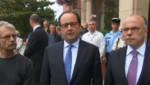 Hollande attentat Normandie