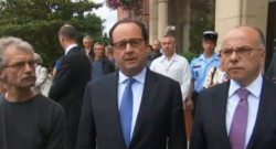 Hollande attentat Normandie