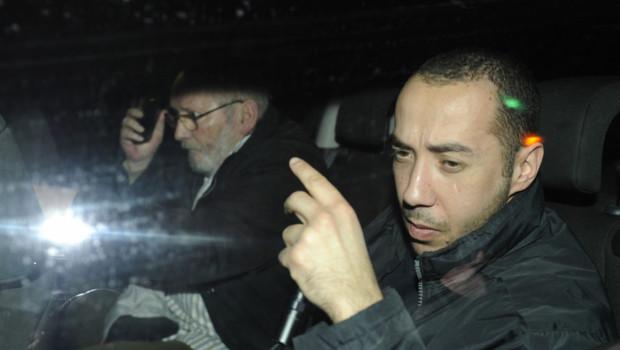 Jean-Claude Mas après sa mise en examen pour blessures involontaires (27/01/2012)
