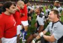 Rugby : haka avant le match France-Nouvelle-Zélande en 2007