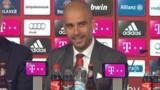 "Guardiola : ""A moi de m'adapter"" au Bayern Munich"