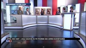 """Appel des Cent: les frondeurs du PS sortent leur contre-budget et espèrent un """"bouger significatif"""""""