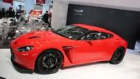 Aston Martin V12 Zagato au Salon de Francfort 2011