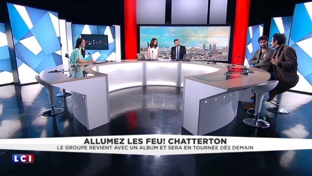 """Feu ! Chatterton en tournée : """"Notre idéal, il ne peut pas se déclarer, il ne se définit pas"""""""