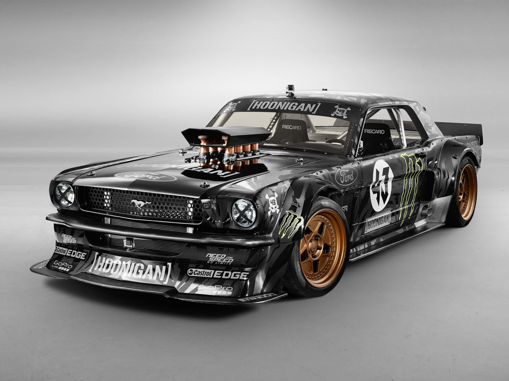 photos automoto la ford mustang hoonicorn rtr du gymkhana 7 de ken block en images mytf1. Black Bedroom Furniture Sets. Home Design Ideas