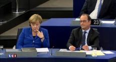 """Hollande et Merkel veulent """"plus d'Europe"""" pour répondre à la crise migratoire"""