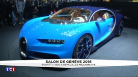 La Bugatti Chiron, un mastodonte de 1.500 chevaux à 2,5 millions d'euros