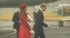 Le prince William, Kate et George en visite en Nouvelle-Zélande (avril 2014)