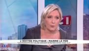 """Marine Le Pen : """"Il n'y a pas de souveraineté européenne"""""""