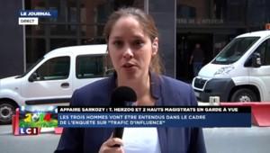 Trafic d'influence : l'avocat de Sarkozy et deux hauts magistrats en garde à vue