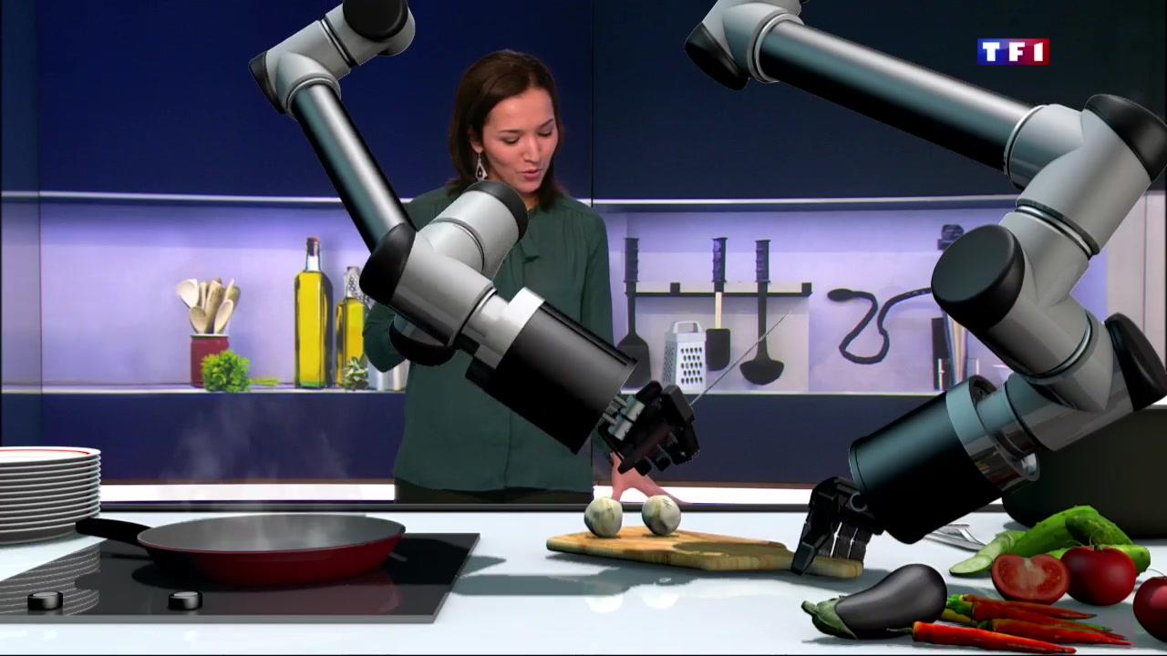 Le robot qui cuisine pour vous lci for Robot cuisine qui fait tout