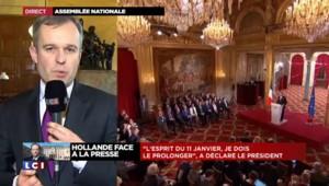 """De Rugy : Hollande """"a dit un message de rassemblement"""""""