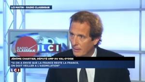 """Fillon """"veut renouer avec une immigration d'effort et plus de confort"""" explique Chartier"""