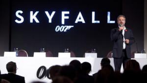 La conférence de presse du lancement du film Skyfall (James Bond)