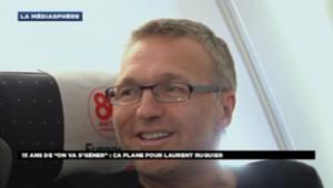 Laurent Ruquier à bord d'un A380