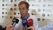 """Roland-Garros : """"Il y a eu une bonne discussion dans le vestiaire"""" se félicite Gasquet"""