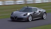 L'Alfa Romeo 4C au Festival de Goodwood 2013