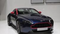 La série spéciale Aston Martin V8 Vantage N430 présentée au Salon de Genève du 6 au 16 mars 2014